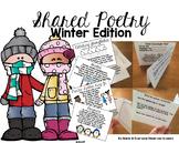 Winter Poem of the Week Flipbook Activities