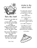Winter Poems: Happy New Year & Winter in the School Yard
