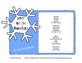 Winter Poems Inference & Making Mental Images Aligned to Common Core