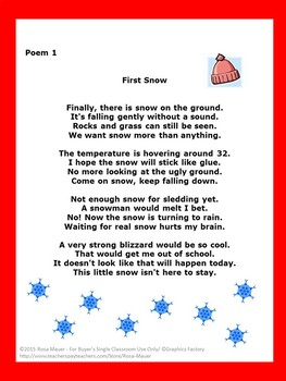 photograph about Chubby Little Snowman Poem Printable identify Printable wintertime poems