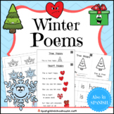 Winter Poems and Mini Books (with QR code Videos)