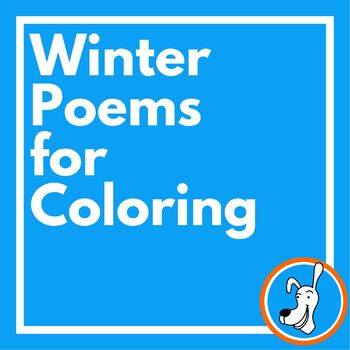 Winter Poems to Color