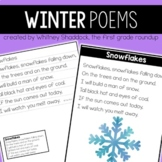 Winter Poems of the Week for Shared Reading