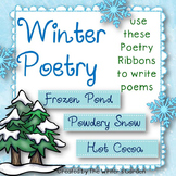 Winter Poetry: 66 Poetry Prompt Ribbons