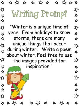 Winter Poetry Book