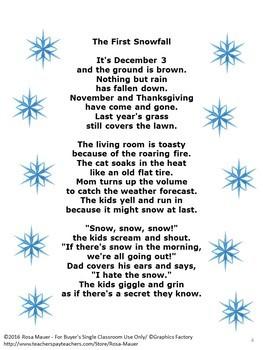 Winter Poetry Bundle