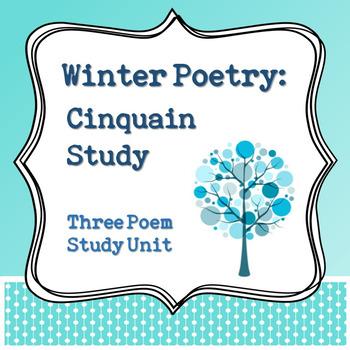 Winter Poetry: Cinquain Study Unit