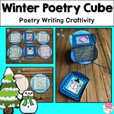 Winter Poetry Cube Craftivity