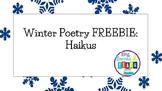 Winter Poetry FREEBIE: Haikus
