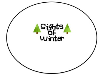Winter Poetry- Mind Maps and Poems oh my!