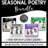 Poetry BUNDLE-Winter Reading, Rhyming, Writing & Word Work