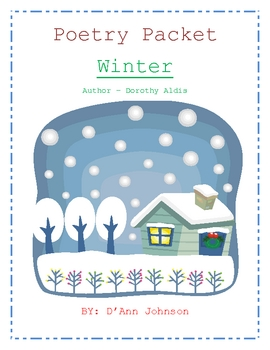 Winter - Poetry Packet