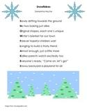 Winter Poetry Reading Comprehension Activity