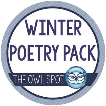 Winter Poetry Task Card Pack