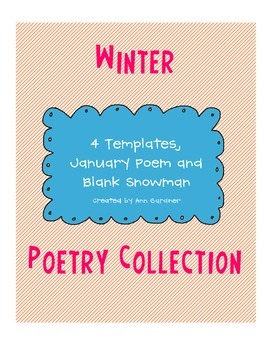 Winter Poetry (Template) Collection +