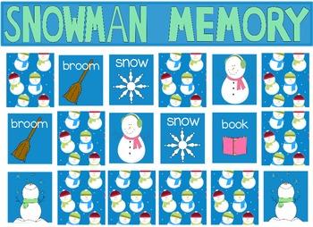 """Winter Poetry, """"Ten Little Snowmen"""" Flipchart for ActivInspire"""