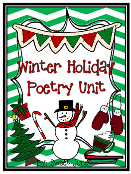 Winter Holiday Poetry Unit
