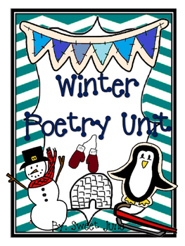 Winter Poetry Unit