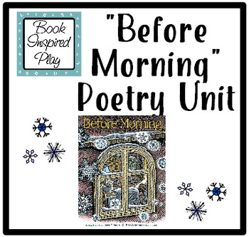 Winter Poetry Unit - Before Morning