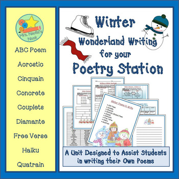 Poetry Writing Unit - Winter