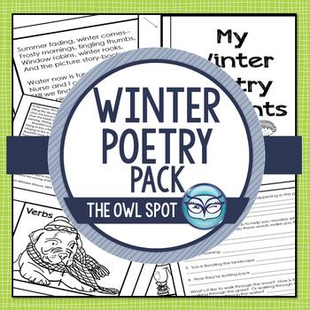 Winter Poetry for Intermediate Grades