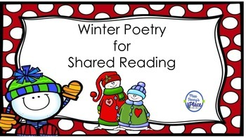 Winter Poetry for Shared Reading