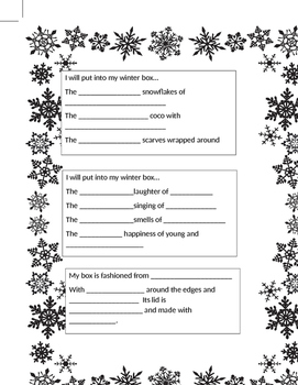 Winter Poetry lesson