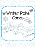 Winter Poke Dot Pictures