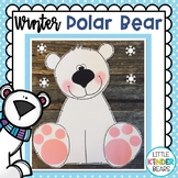 Winter Polar Bear Craft & Writing Activities: Winter Craft: January