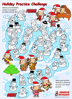 Winter Practice Chart