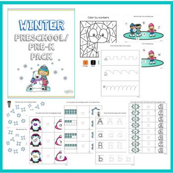 Winter Pre-K Pack