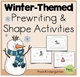 Winter Pre-Writing Activities