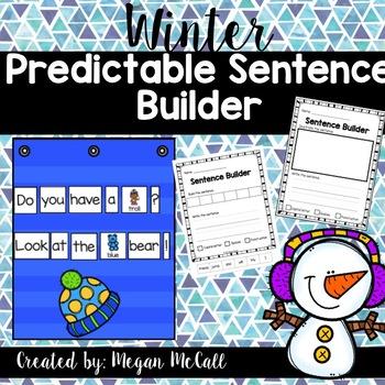 Winter Predictable Sentences
