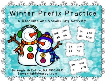 Winter Prefix Practice