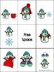 Winter Preposition Bingo