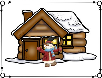 Winter Preposition Fun Interactive Literacy Lessons / Hands-on