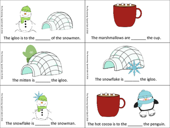 Winter Prepositions