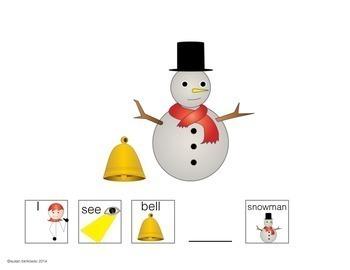 Winter Prepositions Practice