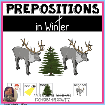 Winter Prepositions Practice Speech Language Therapy