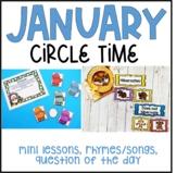 January Preschool Circle Time (Winter Theme)