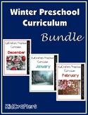 Winter Preschool Curriculum Bundle