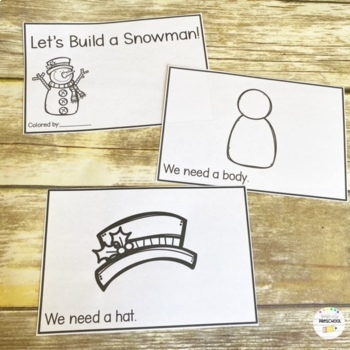 Winter Preschool Pack