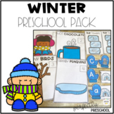 Winter Preschool Pack