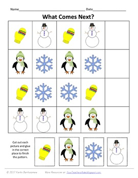 Winter Preschool Pack- 48 PAGES!