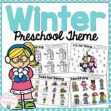 Winter Preschool Packet