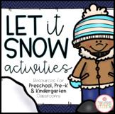 Winter: Preschool, Pre-K and Kindergarten Resources