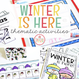 WINTER THEME ACTIVITIES FOR PRESCHOOL, PRE-K AND KINDERGARTEN