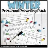 Winter Preschool Prewriting Pack