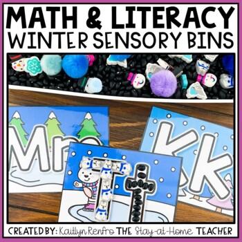 Winter Preschool Sensory Bin Activities