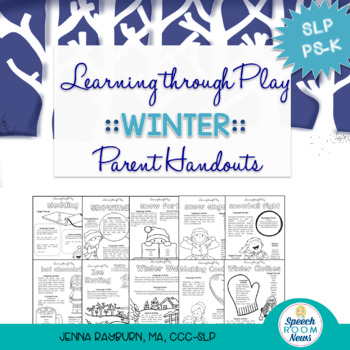 Winter Speech and Language Packet: Learning Through Play